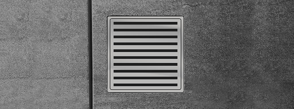 316 Stainless Steel Square On Square Floor Waste